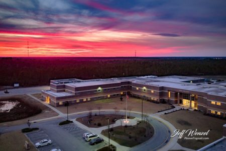 JW108: Sunset Over Topsail High School