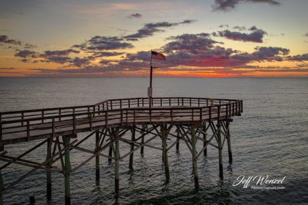 JW105: Seaview Pier Tip Sunrise