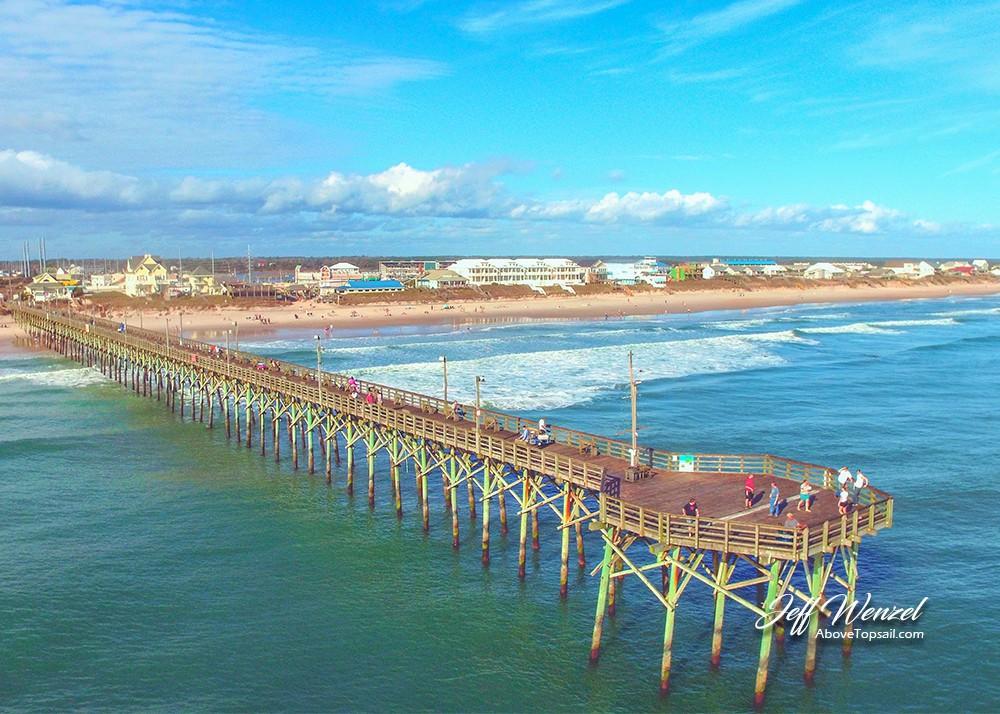 JW068: Surf City Pier In December