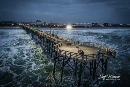 JW093: Surf City Pier Rough Water