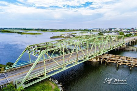 JW011: Swing Bridge Daytime at 45 Degrees