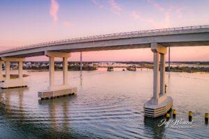 JW181 New Bridge Opening Day Pastel Sunrise