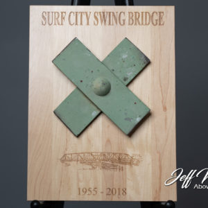 PRE-ORDER: Swing Bridge Piece On Plaque