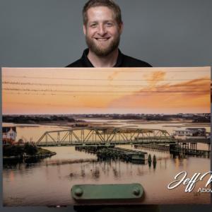 Swing Bridge Piece On Canvas