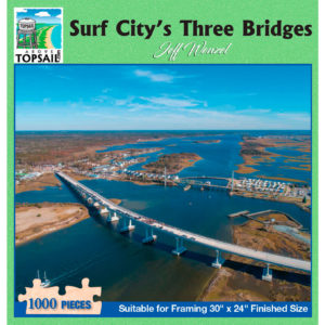 Puzzle: Surf City's Three Bridges (JW183)
