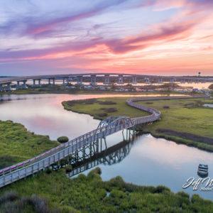 JW185 Replica Bridge July Sunset