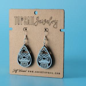 Topsail Swing Bridge Earrings