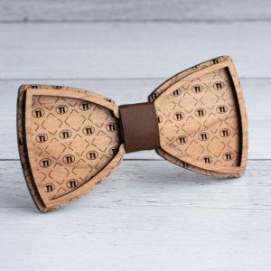 TI Wooden Bow Tie