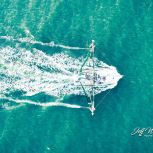 JW199 Shrimper From Above
