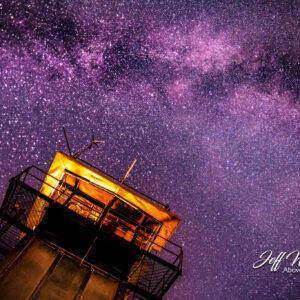 JW202 Milky Way Over Frying Pan Tower 1