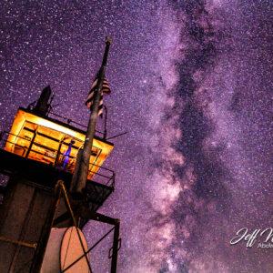 JW203 Milky Way Over Frying Pan Tower 2
